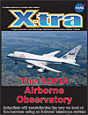 cover of sofia airborne observatory issue of x-tra