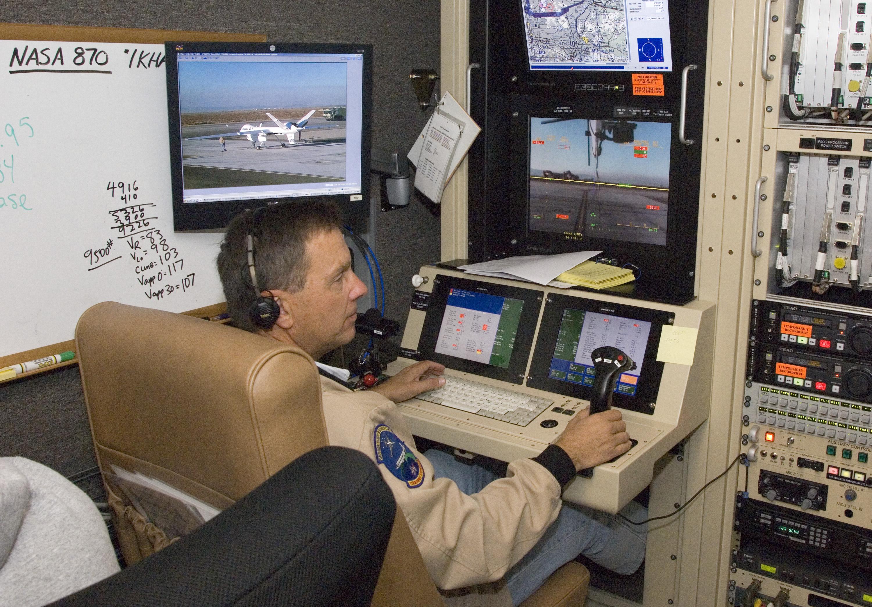 NASA - Wildfire Imaging Flights By NASA's Ikhana UAV Conclude