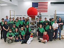 Tehachapi High School's FIRST robotics team