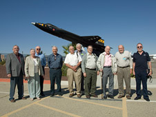 Veterans of the X-15 program reunite at Dryden.