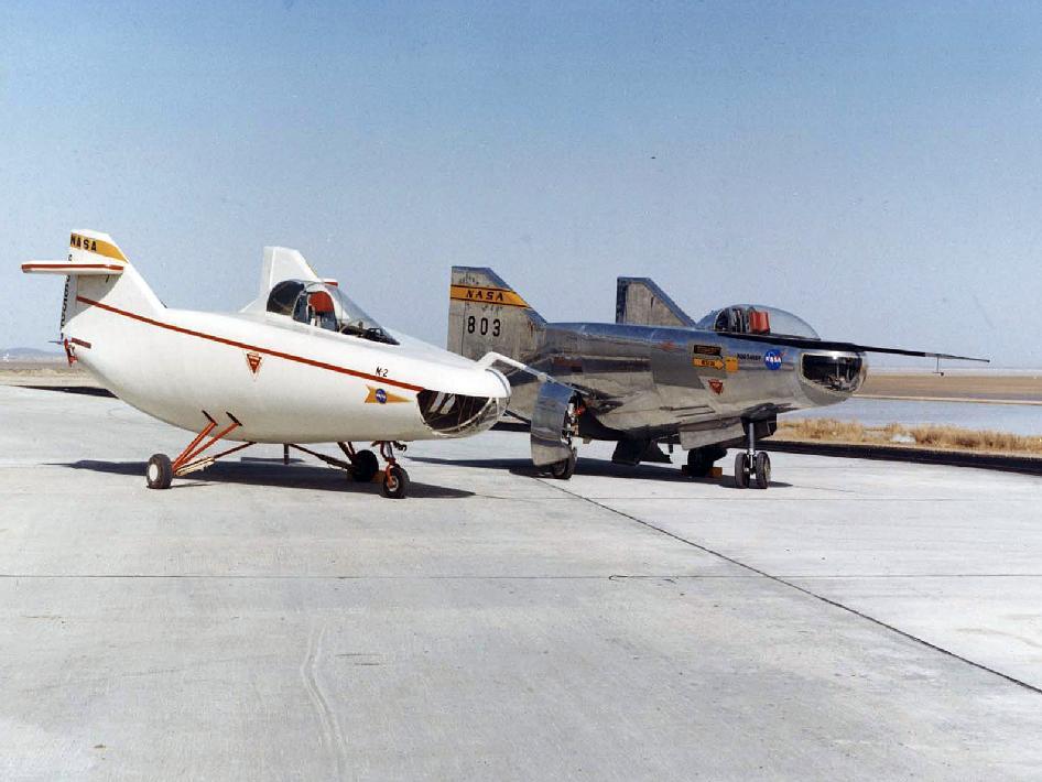 NASA - M2-F1 and M2-F2
