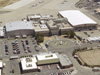 aerial view of dryden flight research center's main building 4800