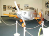 One-of-a-kind custom Turner airplane on display at the Saxon Aerospace Museum in Boron, CA.