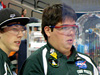Tehachapi High's robotics operations team – Zach St. John, Pilots Ryker Newman and Taylor Wood