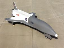 X-34 Technology Testbed Demonstrator on NASA Dryden ramp