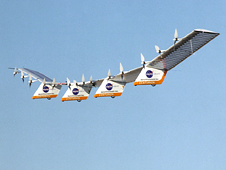 AeroVironment's Centurion solar-electric flying wing.