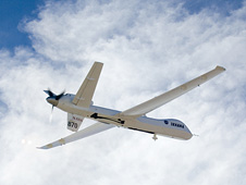 NASA's Ikhana unmanned aircraft in flight