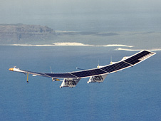 Pathfinder in flight over Hawaii.