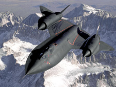 SR-71 in-flight view from tanker