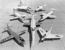 NACA fleet in the early fifties
