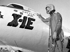 X-1E with pilot Joe Walker
