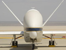 nose of global hawk