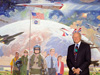 Famed aerospace artist Robert T. McCall, who created murals of aerospace history for aerospace museums and movies, including three works for NASA's Dryden Flight Research Center