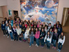 More than 40 seventh-grade girls visited NASA Dryden during their AAUW Tech Trek tour.