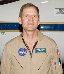 NASA pilot Tim Williams