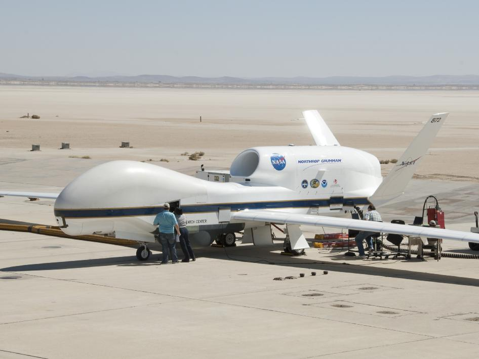 NASA Global Hawk undergoes systems testing