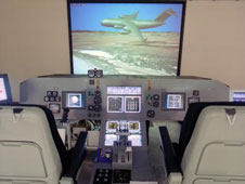 C-17 flight simulator