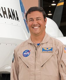 NASA research pilot Hernan Posada