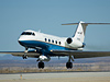 pod slung beneath NASA's Gulfstream-III research aircraft houses a sophisticated synthetic aperture radar