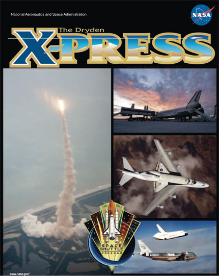 cover of shuttle tribute x-press