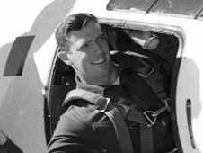 test pilot John Griffith in X-1