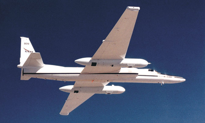 ER-2 in flight