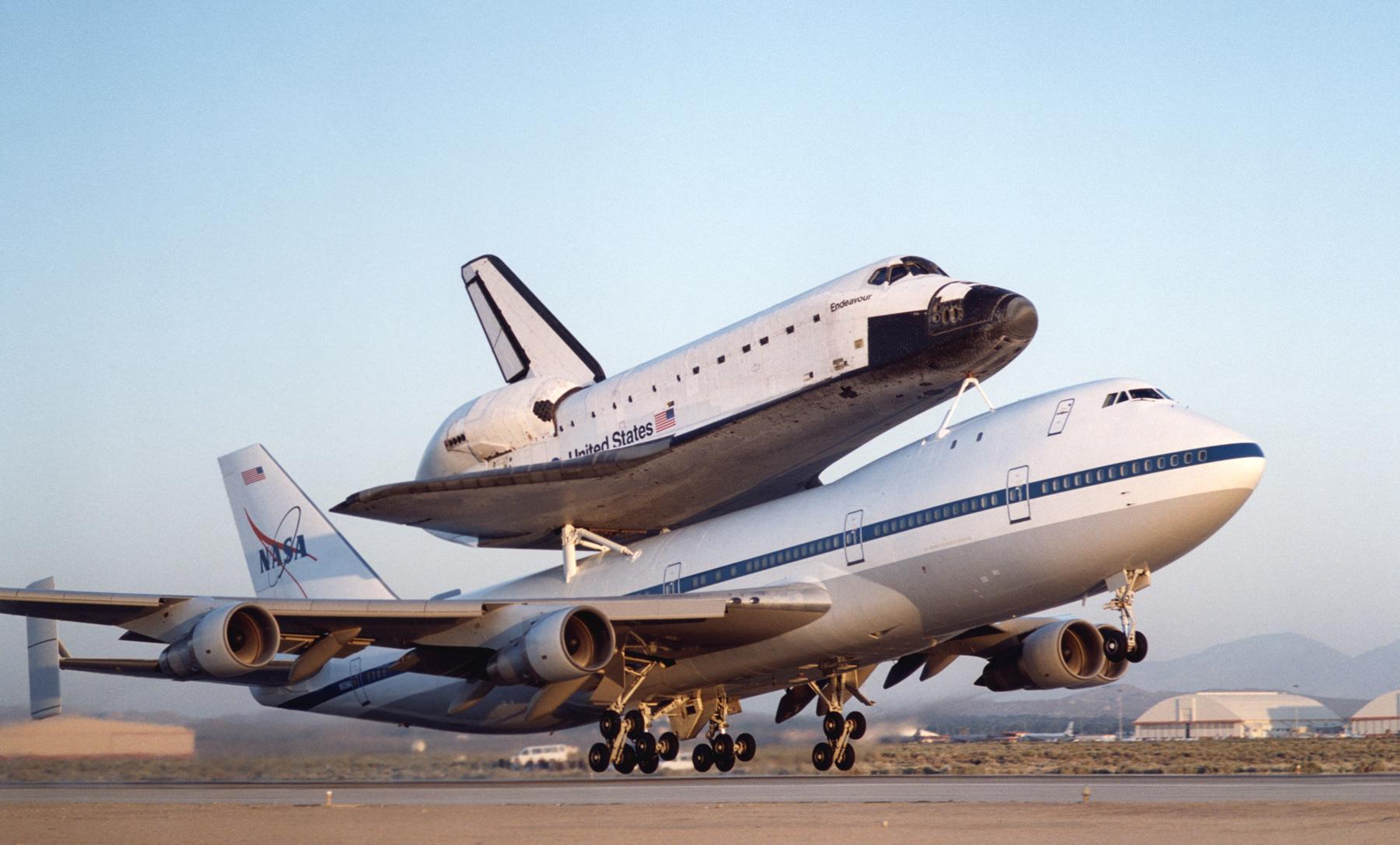 NASA - Shuttle Carrier Aircraft