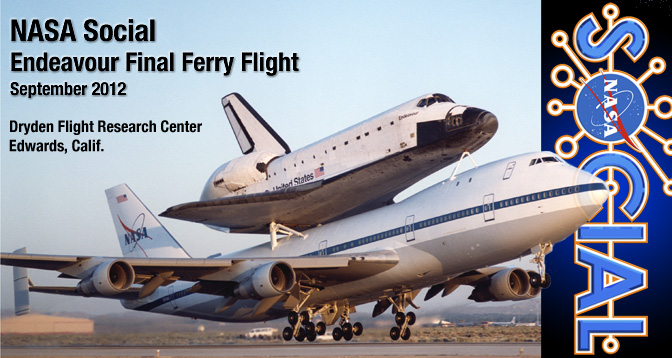 NASA Social Media Event - Endeavour Final Ferry Flight - September 2012