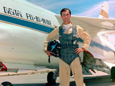 Gary Krier was an aerospace research pilot and engineer at Dryden.