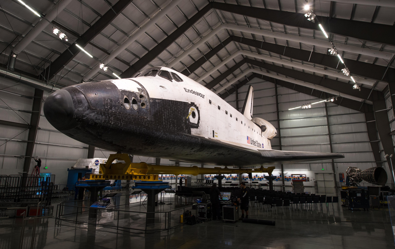 samuel oschin space shuttle endeavour display pavilion events - photo #14