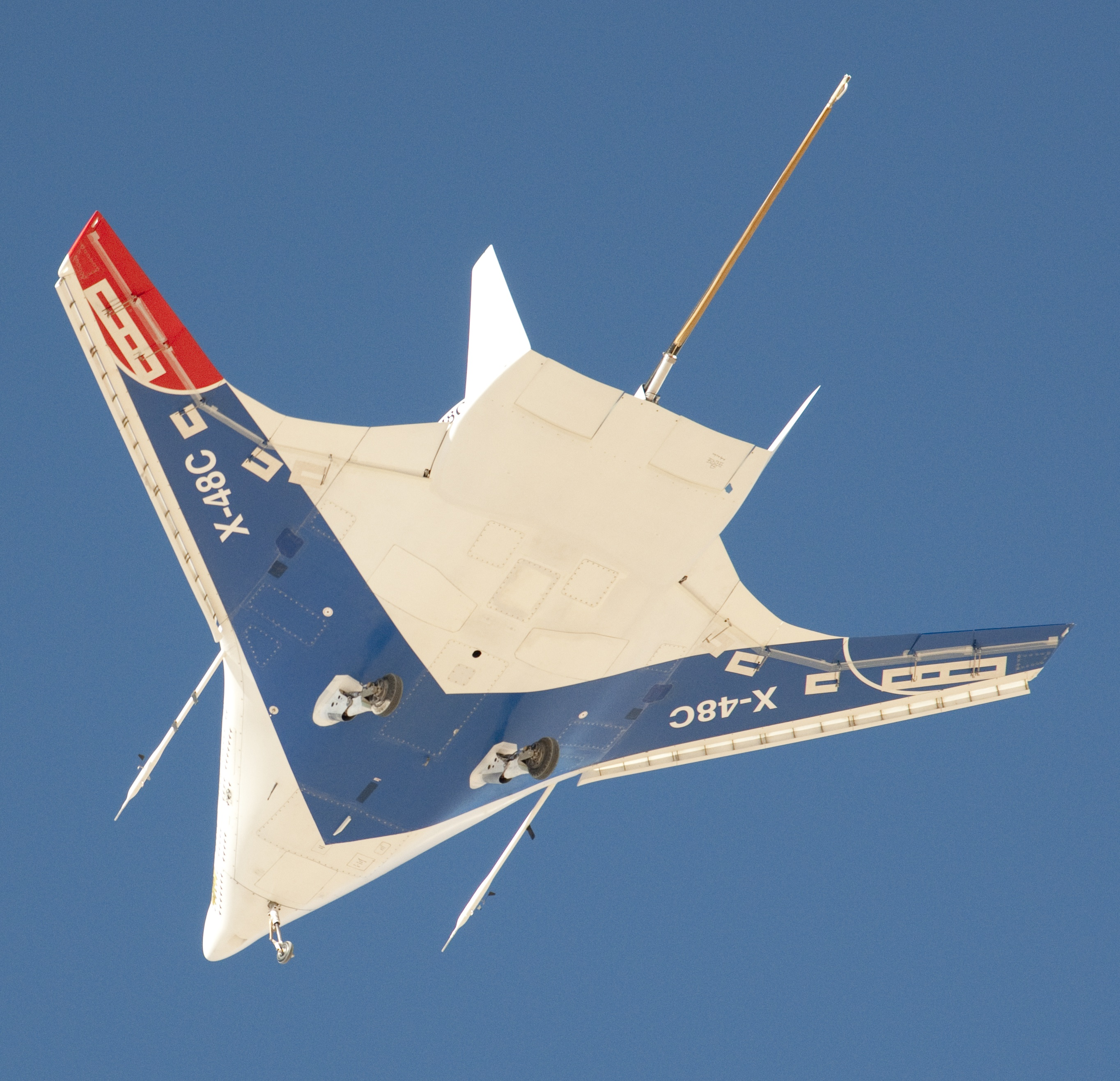 nasa x 48 drone aircraft - photo #24