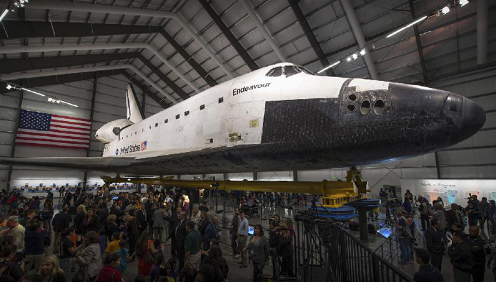 space shuttle endeavour california - photo #12