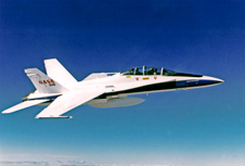 NASA Dryden's F/A-18B No. 846 flew the majority of flights during several sonic-boom mitigation research projects in 2012.