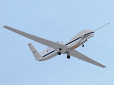 NASA Global Hawk No. 871 was one of two NASA Global Hawk unmanned aircraft systems that participated in NASA's HS-3 hurricane study over the Atlantic during 2012.