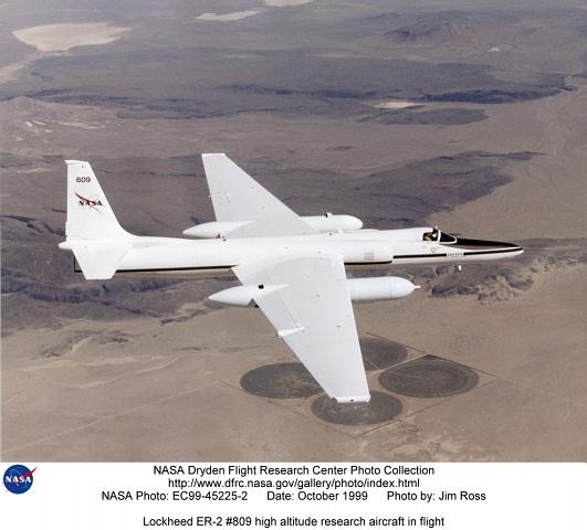 ER-2 In Flight