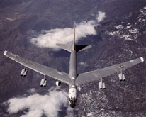 Image of B52 in flight