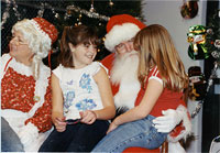 photo: Dryden kids with Santa