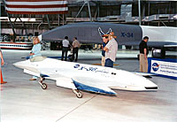 photo: Dryden's UAV aircraft