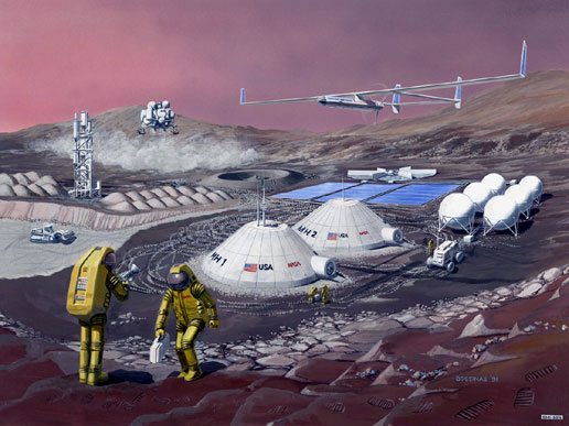 Multifunction Mars Base