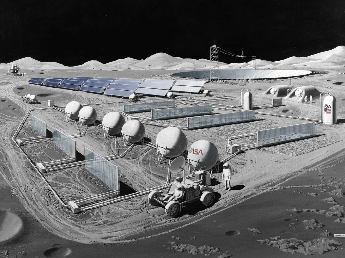 Nasa Manned Lunar Observatory