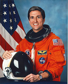 Portrait of Astronaut Don Thomas