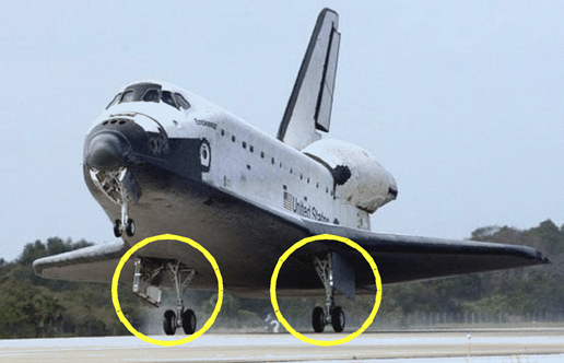 NASA - Main Landing Gear Doors