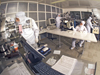 Image of a clean room at the NASA Glenn Research Center.