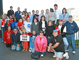 Image of the 2006 NASA Team.