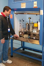 Hot Liquid Process Simulator used for fuel synthesis.