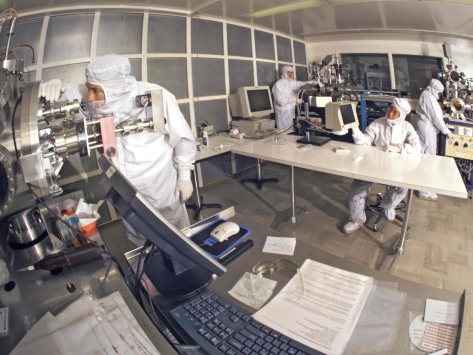 NASA clean room