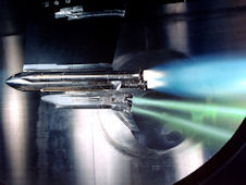 shuttle engine test image