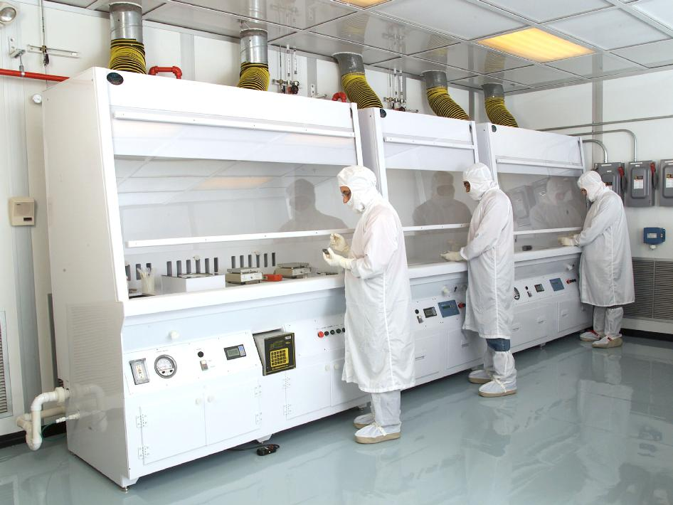 clean room located at NASA Glenn Research Center