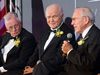 Neil Armstrong, John Glenn and James Lovell