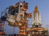 Endeavour on Launch Pad
